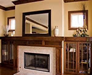 bungalow fireplace bungalow prairie style custom fireplace craftsman