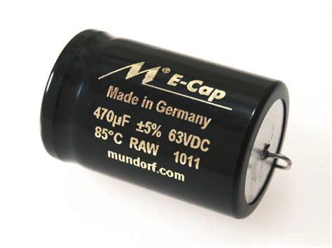 mundorf bipolar capacitors mundorf e cap 390uf 63vdc 23vac sonic craft