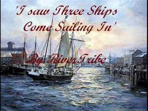blackmore s i saw three ships three ships