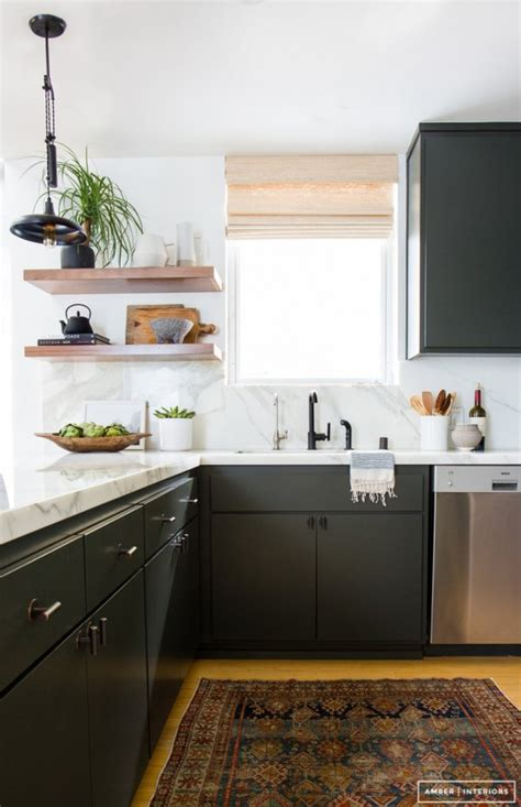 the collected interior black painted kitchen cabinets design trend black kitchens simplified bee