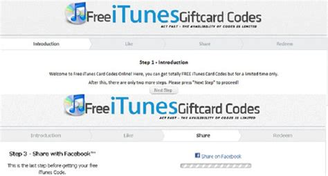 Free Itunes Gift Card Codes 2014 No Survey - facebook survey scam free itunes codes and free itunes card codes softpedia