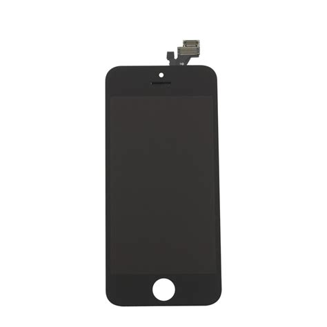 Lcd Iphone 5 Biasa Iphone 5 Black Display Assembly Lcd Touch Screen Fixez