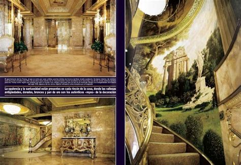 inside trumps house learjet pinterest donald trump inside donald trump s house some would say ostentatious i