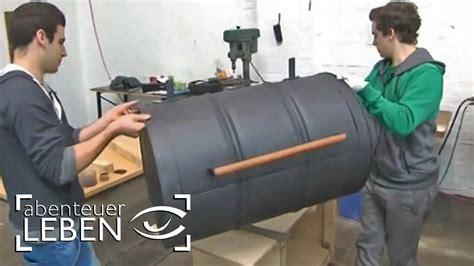 metall ofen selber bauen einfach und g 252 nstig selber bauen der fass grill smoker 2