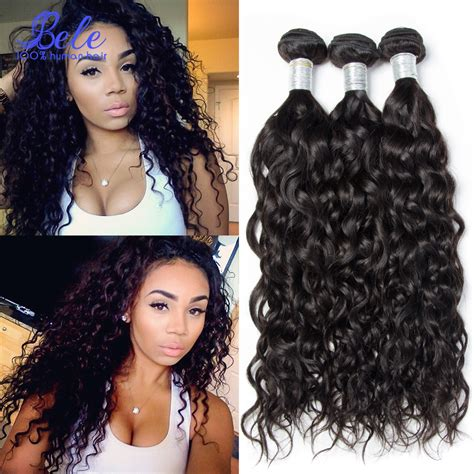 wet and wavy human hair weave hairstyles brazilian wet and wavy human hair weave 7a brazilian