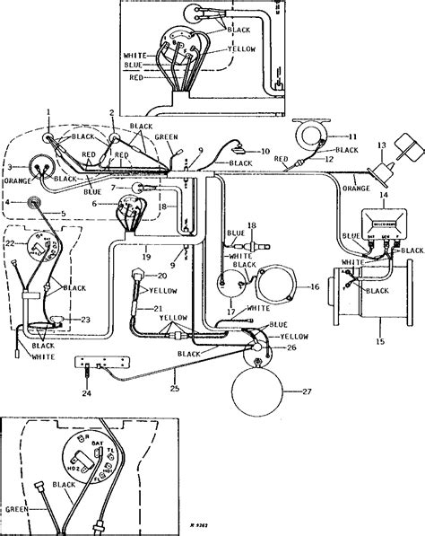 starter wiring diagram for deere 4430 starter get