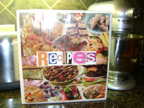 family recipe organizer great frugal gift idea mommysavers