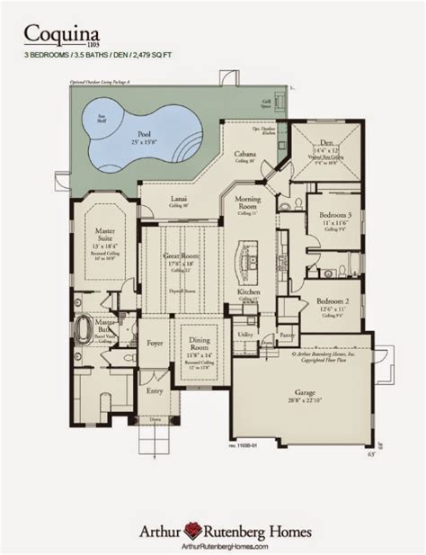 100 arthur rutenberg floor plan luxury home
