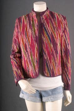 Atasan Blouse Bolero Batik Zig Zag patterned blazer 42 style wishlist
