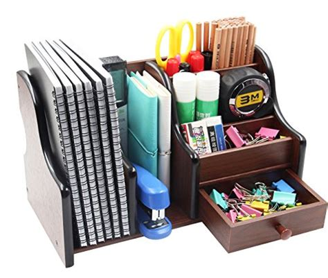 office and desk supplies pag office supplies wood desk organizer book shelf pen