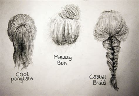 beautiful hairstyles drawing step 14 the last face quot educating quot emily