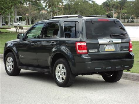 electric and cars manual 2009 ford escape electronic valve timing 2009 ford escape hybrid limited 4wd 4x4 awd clean carfax loaded navi must sell for sale in
