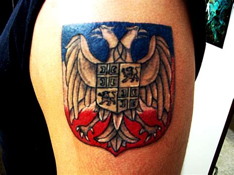 serbian tattoos serbian eagle www pixshark images galleries