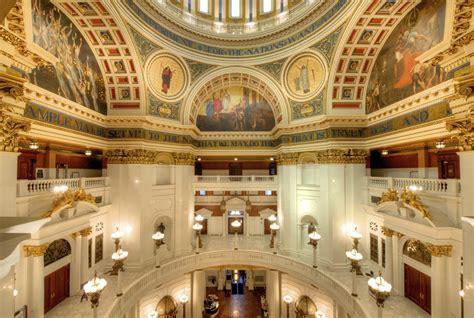 Us Senate Floor Plan by Pennsylvania State Capitol