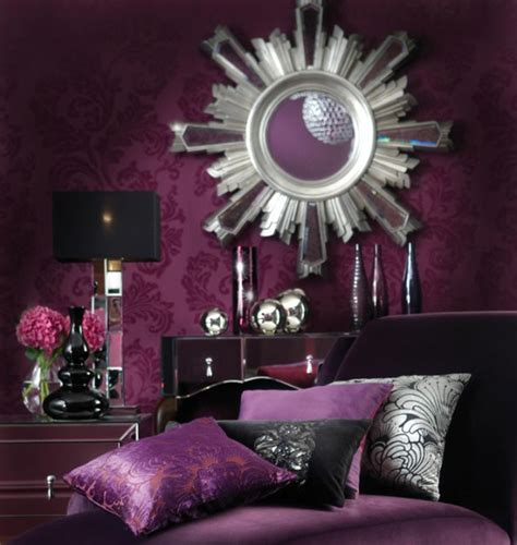 purple and silver room how to use purple in stunning looking living rooms