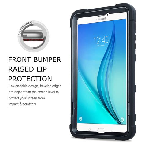 Samsung Galaxy Tab 7 Shockproof Silikon Soft Casing Cover shockproof silicone pc stand for samsung galaxy tab a 7 0 8 0 9 7 10 1 ebay