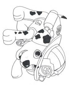 Paw Patrol Marchel Colouring Pages sketch template