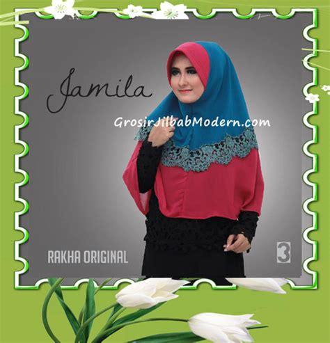 Jilbab Instant Jamila Cutting Kerudung Syari Instan jilbab instan terbaru bergo pet jamila by rakha no 3