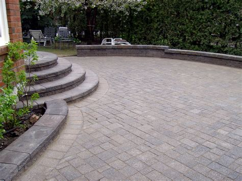 Interlock Patio Paradise Views Landscaping Landscaping Backyards With