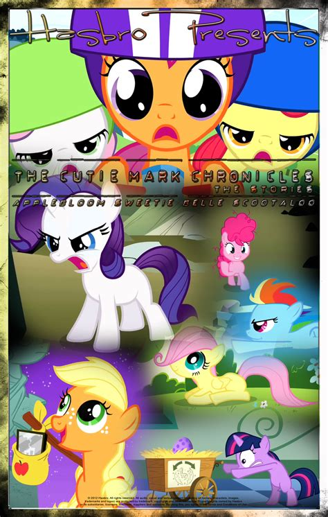 film mlp 4 mlp the cutie mark chronicles movie poster by pims1978
