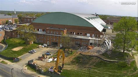 cole field house you can now watch the construction inside maryland football s new cole field house