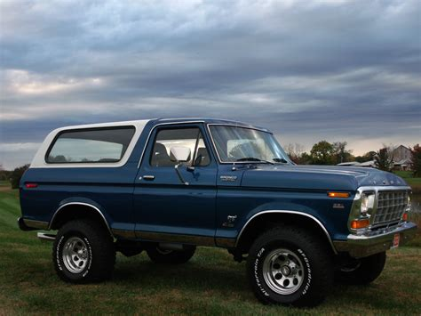 ford truck blue this big blue 1979 ford bronco is waiting for you ford