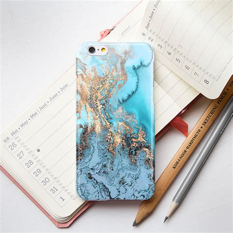Marble Iphone 5 5s blue gold marble iphone 6 iphone 5s iphone 5