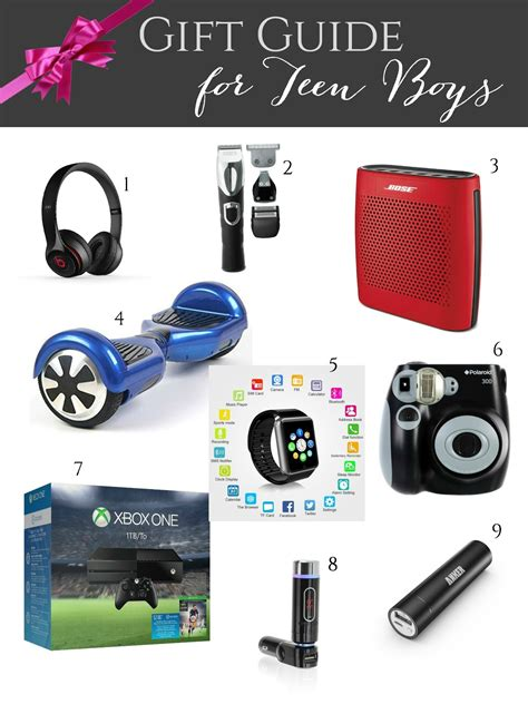 christmas gifts for teen boys gift guide for boys giveaways galore evolution of style