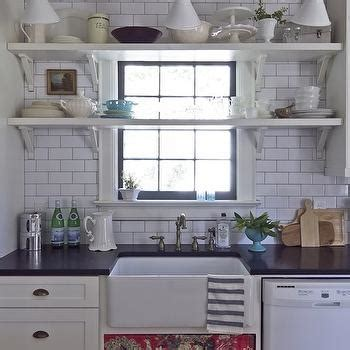 shelf over kitchen sink cottage kitchen shelf in front of window design ideas