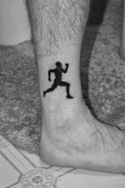 running tattoos for men running flutes mindfulness and in general my inky