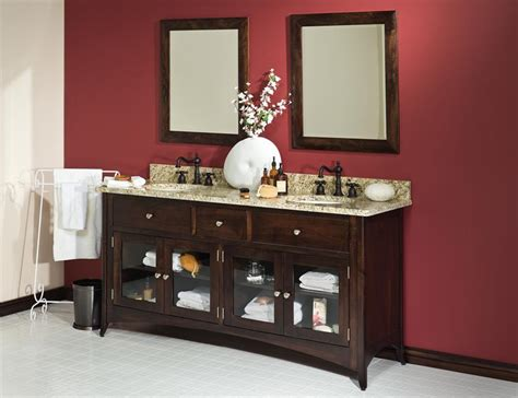 furniture vanity for bathroom amish bathroom vanities and vanity cabinets
