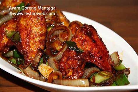 kumpulan resep asli indonesia ayam goreng mentega