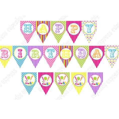 printable birthday cake banner template 6 best images of happy birthday banner printable free