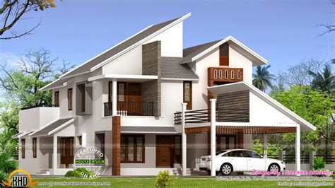 new house roof designs new modern house plan kerala home design and floor plans