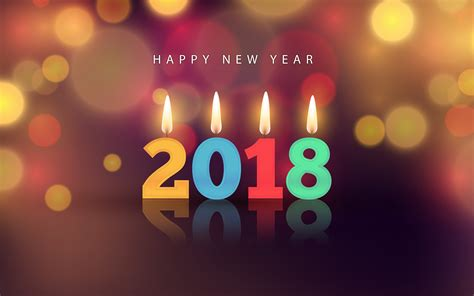 wallpaper 4k new year 2018 new year 4k wallpapers hd wallpapers id 22374