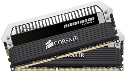 Ram Corsair Dominator 8gb ram corsair cmd8gx3m2a2400c10 dominator platinum 8gb 2x4gb ddr3 2400mhz dual channel kit