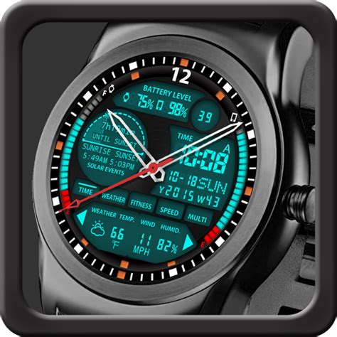 The Best Android Wear Watchfaces