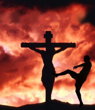 at the because of the cross we jesus loving the word with