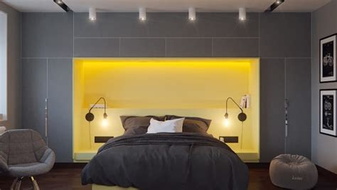 Yellow And Grey Themed Bedroom Find Greyspiration In 3 Sophisticated Modern Grey Spaces