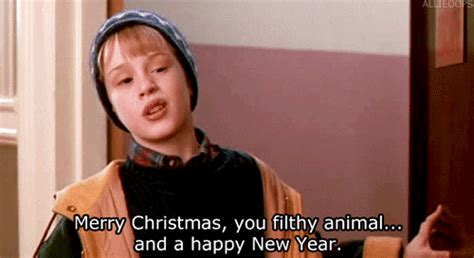 merry christmas  happy  year gifs find share  giphy