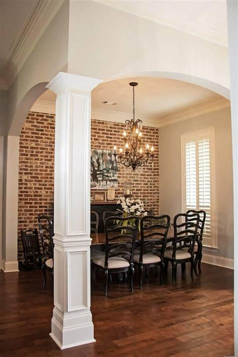 interior columns for homes amazing interior interior column design ideas with