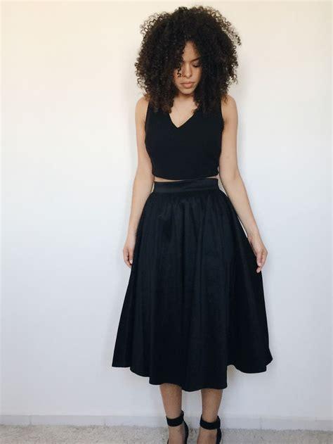 imagenes retro midi 25 melhores ideias de saia midi preta no pinterest saia