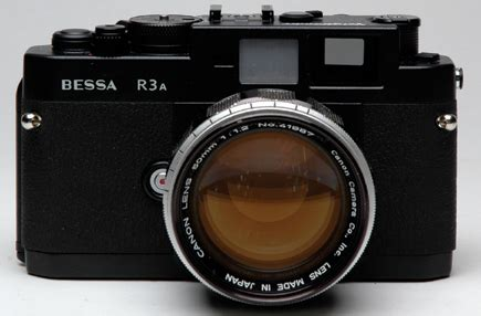 canon's 50mm f/1.2 rangefinder lens; a legend in the super