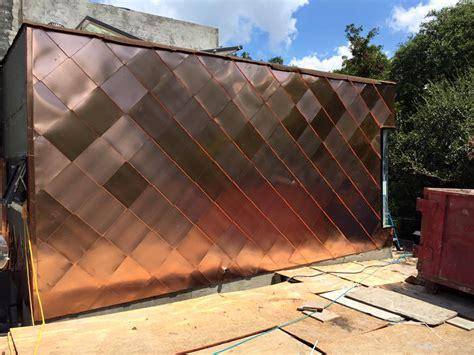 metal shingles  wall cladding fine metal roof tech