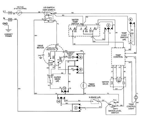 ge washing machine motor wiring diagram ge wiring