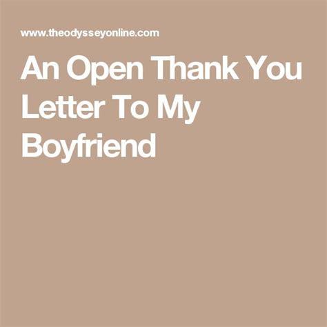thank you letter to my boyfriend best 25 letters to boyfriend ideas on