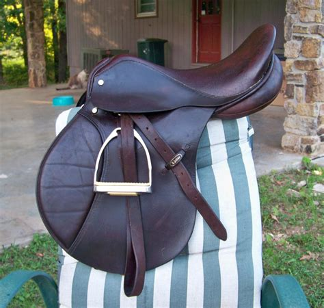 e jeffries 18 quot english saddle for sale tack and items - English Saddles For Sale