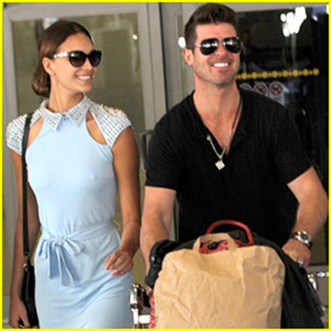 april love geary robin thicke robin thicke april love geary return to l a from paris
