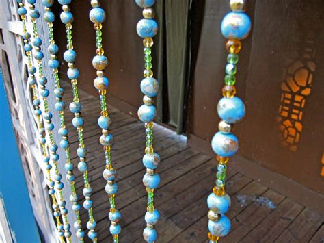 Beaded Curtain Custom Decorate The House With Beautiful
