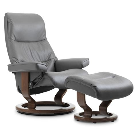 cost of stressless recliner stressless view classic recliner ottoman from 3 195 00